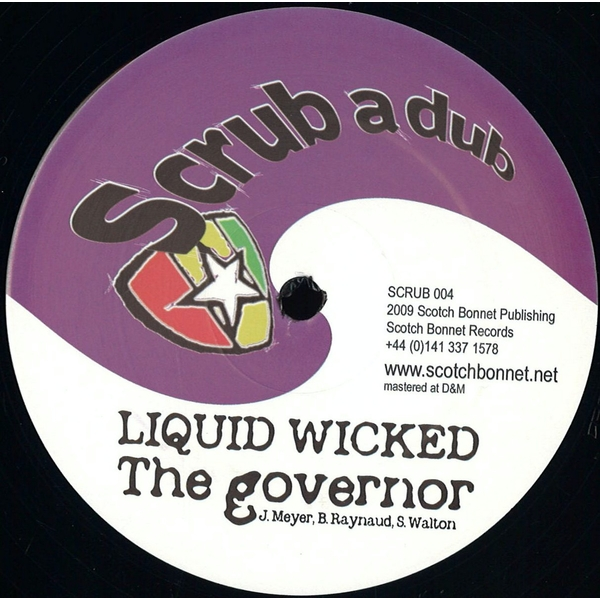Liquid Wicked / Twisted – The Governor / The Superpowers Vinyl