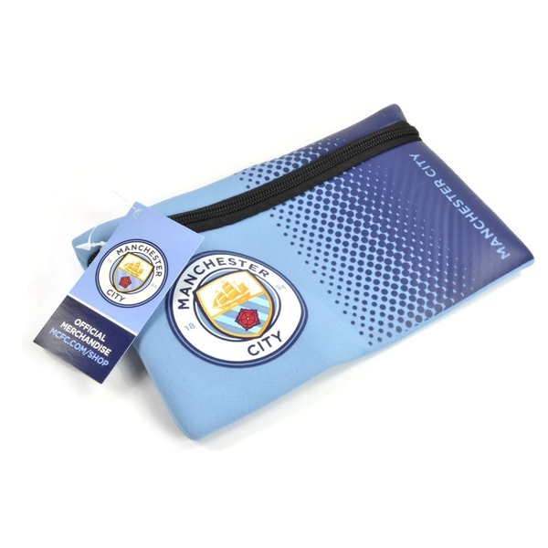 Man City Fade Design Pencil Case New Crest