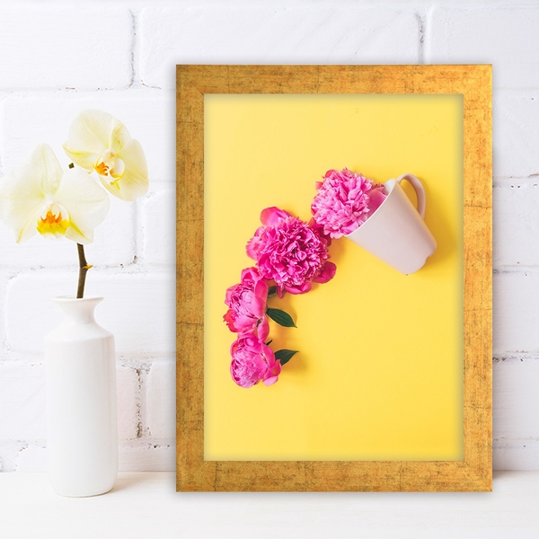 AC644686126 Multicolor Decorative Framed MDF Painting