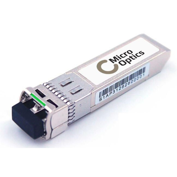 MicroOptics SFP 1.25 Gbps, SMF, 80 km, LC, DDMI support, Compatible with Cisco GLC-ZX-SMD