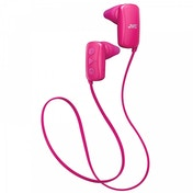 JVC Gumy Sports Bluetooth In Ear Headphones Pink