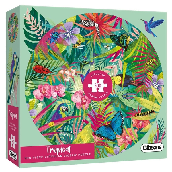 Tropical White Logo Collection Jigsaw Puzzle - 500 Pieces