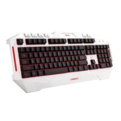 Asus Cerberus Arctic USB Gaming Keyboard UK Layout