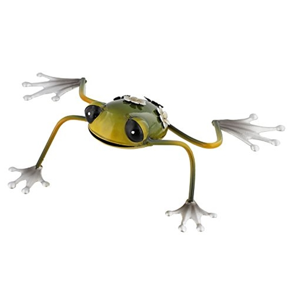 Country Living Hand Painted Metal Frog