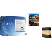 PlayStation 4 (500GB) White Console + Battlefield Hardline + The Order 1886 Blackwater Edition