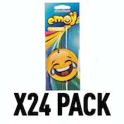 Vanilla Laughing Crying (Pack Of 24) Emoji Air Freshener