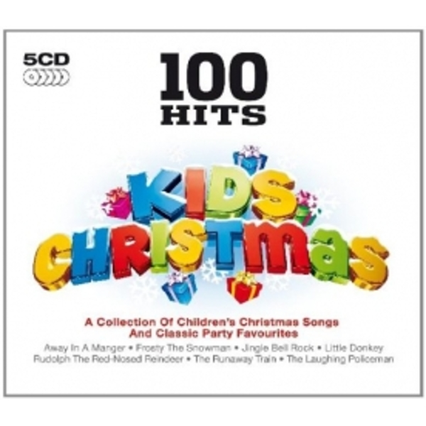 100 Hits Kids Christmas CD