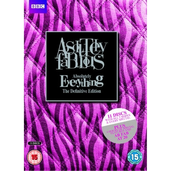 Ab Fab Absolutely Everything - The Definitive Ed DVD