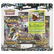 Pokemon TCG: Sun & Moon Lost Thunder 3 Pack Blister