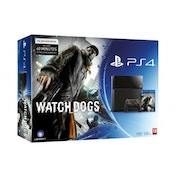PlayStation 4 (500GB) Black Console with Watch Dogs