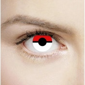 Blind Pokemon Pokeball 1 Day Halloween Coloured Contact Lenses (MesmerEyez XtremeEyez)