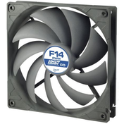 Arctic F14 14cm PWM PST Case Fan for Continuous Operation