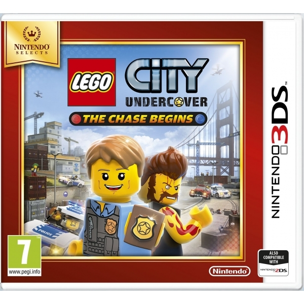 Lego City Undercover The Chase Begins Game 3DS (Selects) - Image 1
