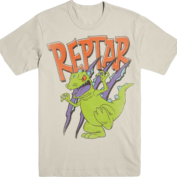 Nickelodian - Nick 90s Rugrats Reptar Unisex Large T-Shirt - Neutral