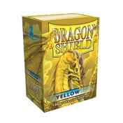 Dragon Shield Standard 100 Yellow Sleeves (10 Packs)