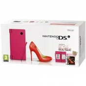 Nintendo DSi Console (Pink) with Style Boutique Game