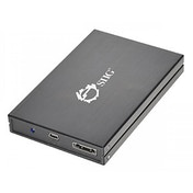 Siig 2.5in USB 2.0/eSATA to SATA HDD/SSD enclosure