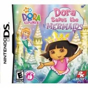 Dora The Explorer Saves The Mermaids Game DS