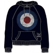 The Who Target Distressed Black Mens Hoodie Size: Small