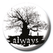Harry Potter - Always Silhouette Badge - Image 2