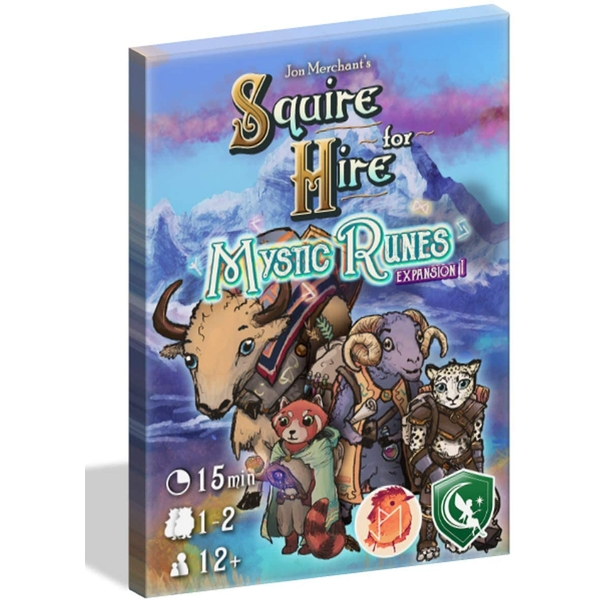 Squire for Hire - Mystic Runes Standalone Expansion Board Game