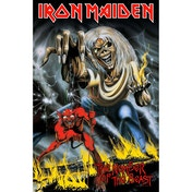 Iron Maiden - Number Of The Beast Textile Poster