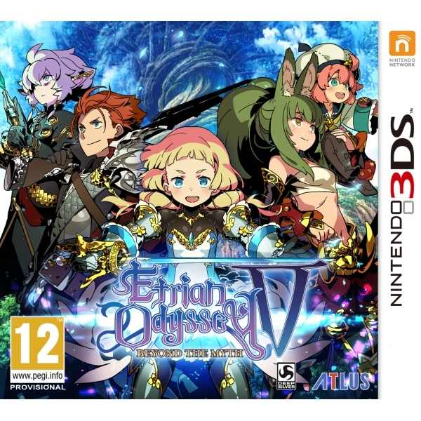 Ex-Display Etrian Odyssey V Beyond The Myth 3DS Game Used - Like New