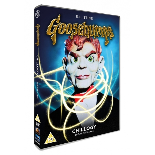 Goosebumps Chillogy DVD