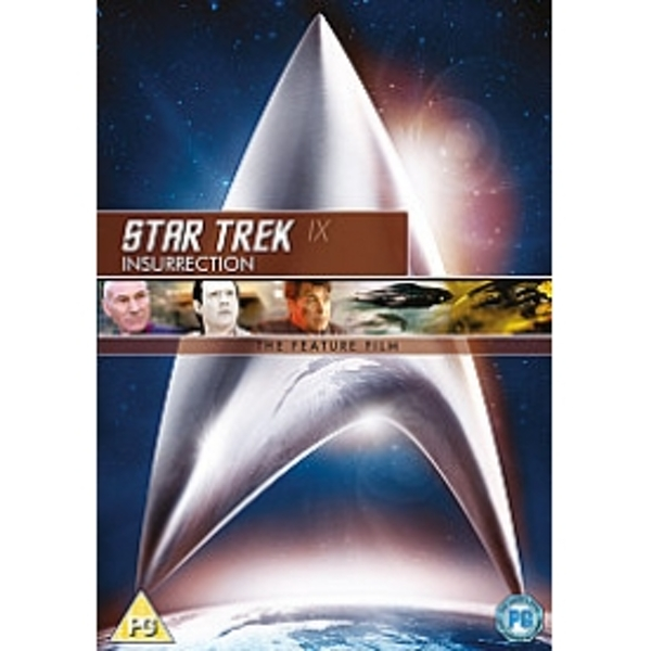 Star Trek 9 Insurrection DVD