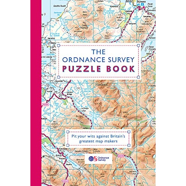 The Ordnance Survey Puzzle Book Pit your wits against Britain's greatest map makers from your own home Paperback / softback 2018