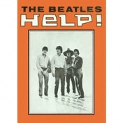 The Beatles HELP! Metal Magnet