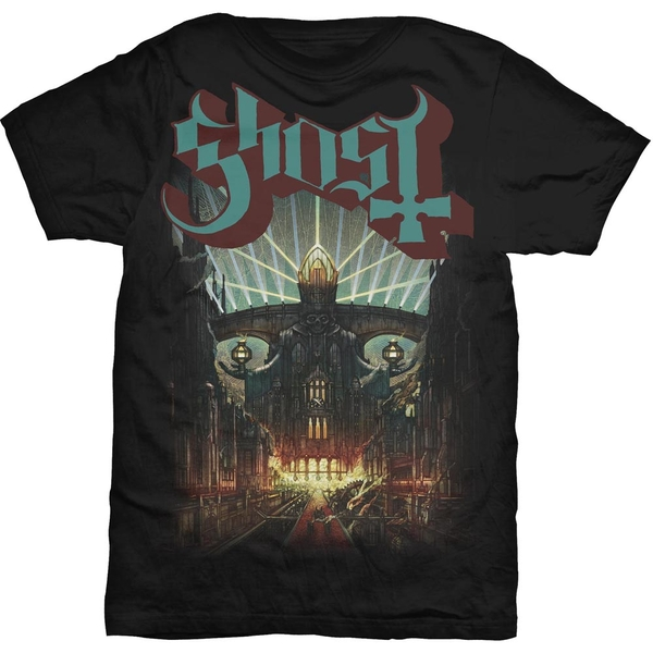 Ghost - Meliora Unisex X-Large T-Shirt - Black