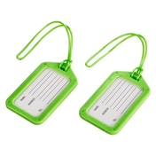 Hama - Luggage Tag, set of 2, Green - Synthetic Material