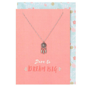 Dream Big Necklace and Card