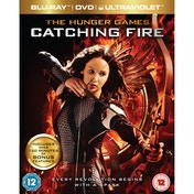 The Hunger Games Catching Fire Blu-ray
