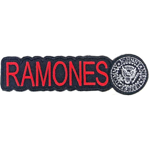 Ramones - Logo & Seal Standard Patch