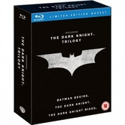 Ex-Display The Dark Knight Trilogy Blu-ray Used - Like New