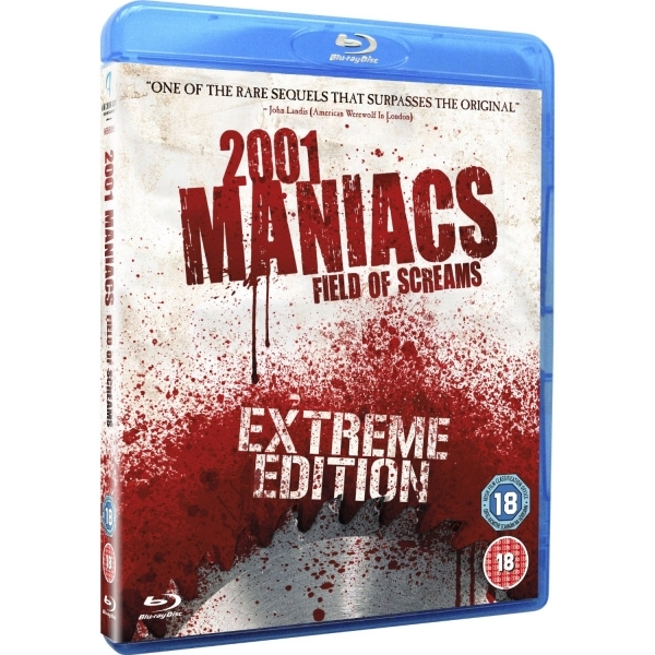 2001 Maniacs Field Of Screams Blu-ray