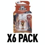 Leather (Pack Of 6) Yankee Candle Ultimate Car Jar Air Freshener