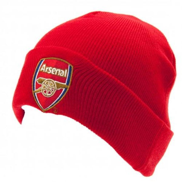 Arsenal FC Red Knitted Hat TU