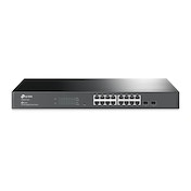 TP-LINK T1600G-18TS network switch Managed L2  Gigabit Ethernet (10/100/1000) Black UK Plug
