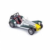 Norev 1983 Caterham Super 7 - Aluminium Yellow/Green