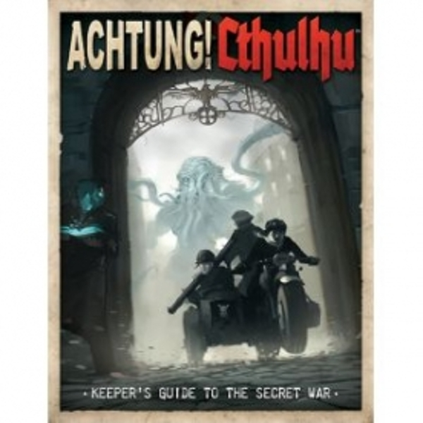 Achtung! Cthulhu Keepers Guide Board Game