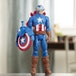 Avengers Titan Hero Series Blast Gear Captain America Action Figure - Image 4