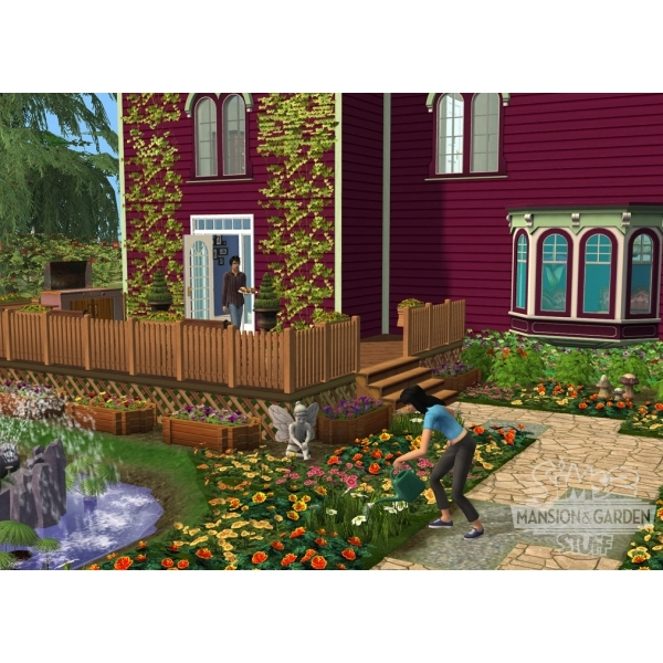 The Sims 2 Mansions & Garden Stuff Game PC - Image 2