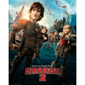 How To Train Your Dragon 2 One Sheet Mini Poster