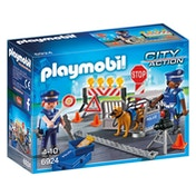 Playmobil City Action Police Roadblock