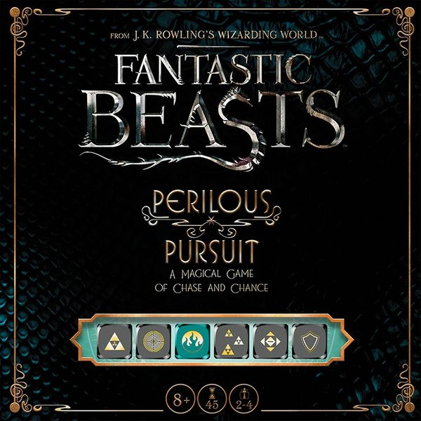 Fantastic Beasts: Perilous Pursuit Board Game