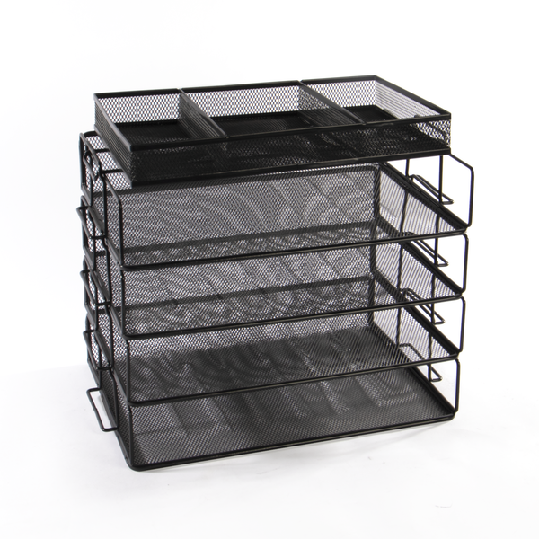 5-Tier Stackable Paper Tray   M&W
