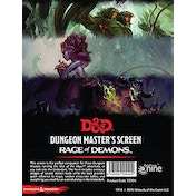 Dungeons & Dragons D&D DM Screen - Rage of Demons